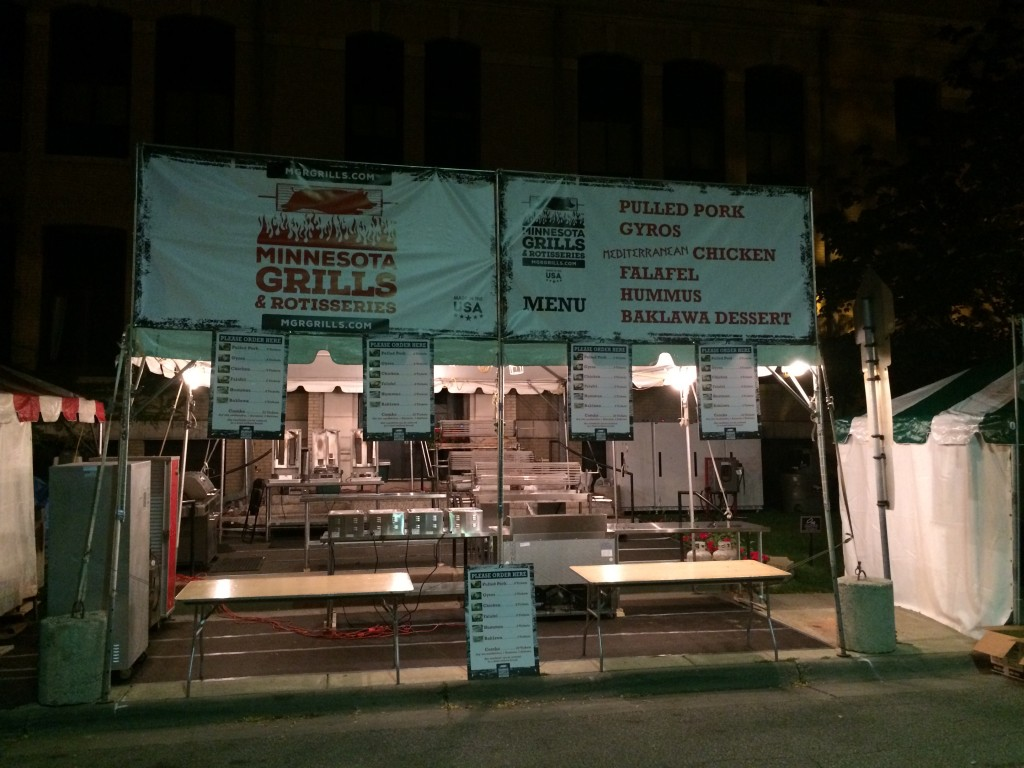 Minnesota Grills and Rotisseries at the 2015 Basilica Block Party