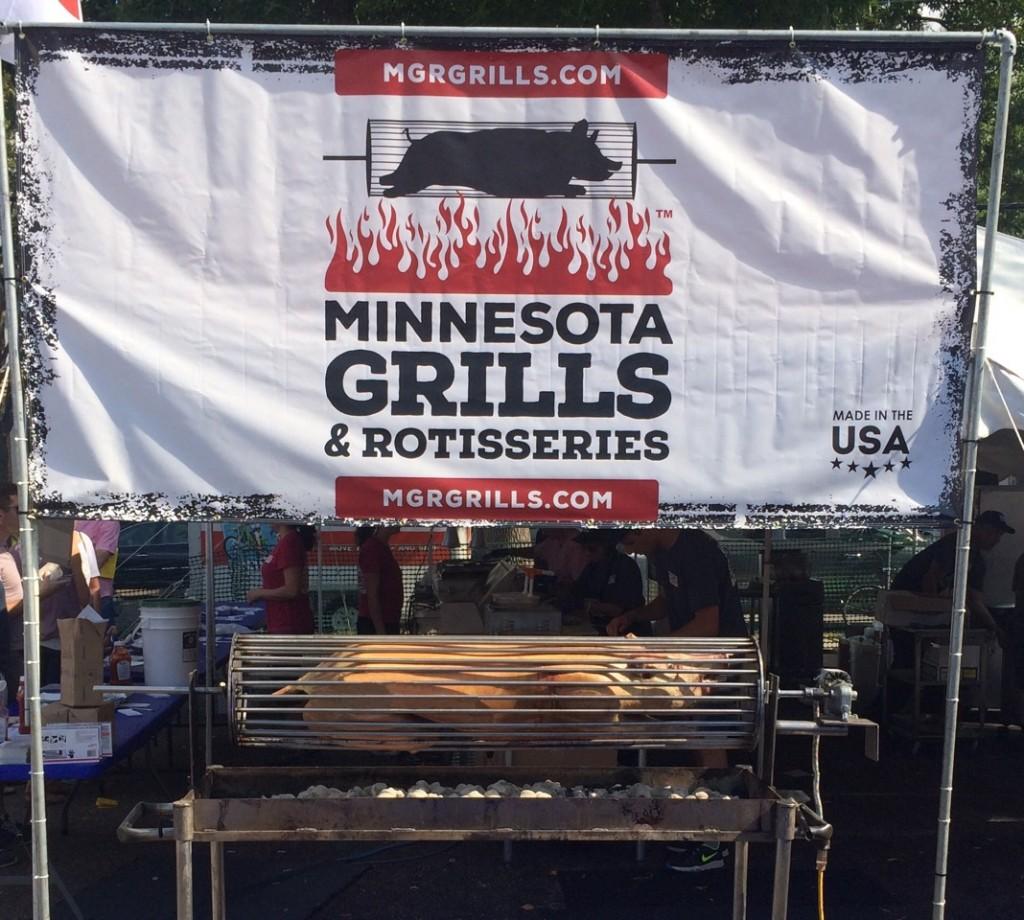 Minnesota Grills and Rotisseries at Minneapolis Taste of Northeast