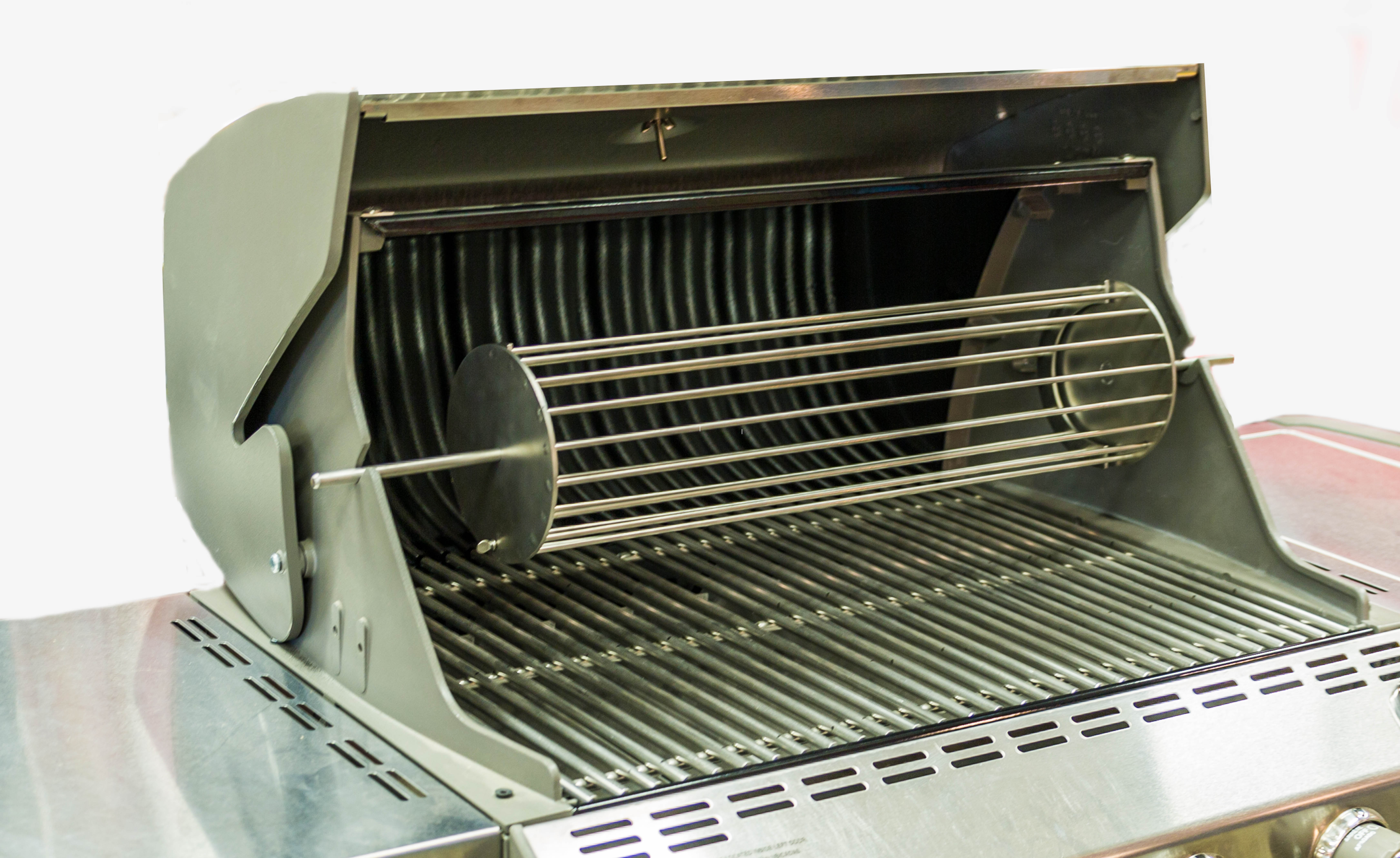 Rotisserie on Grill