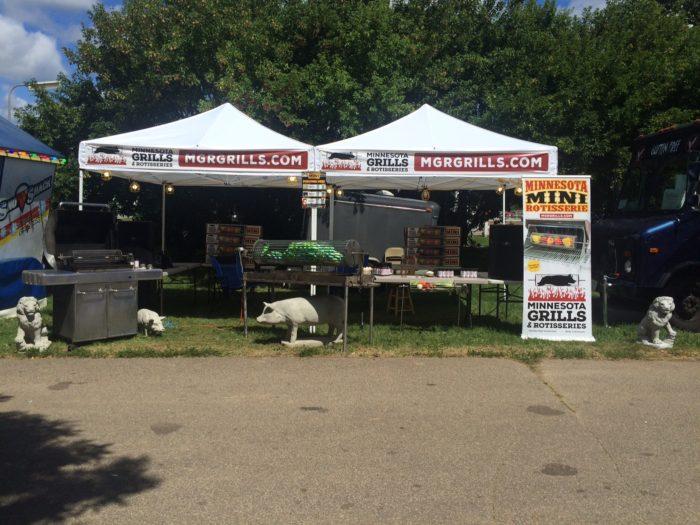 MGR Grills at Washington County Fair