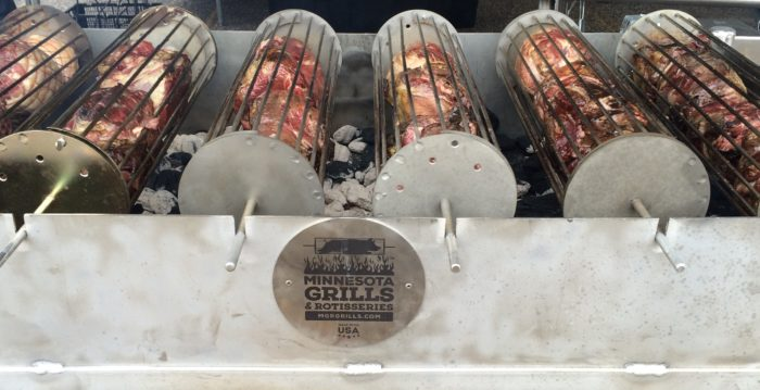 Grilling at Middle Eastern Festival